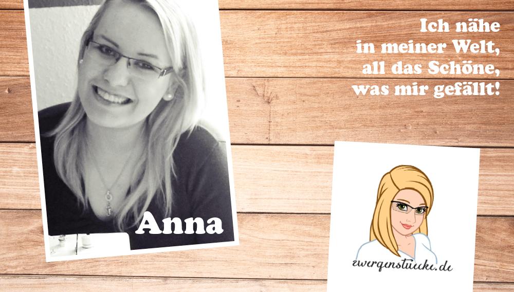 Mein Stammteam: Anna von Zwergenstücke